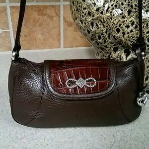 😍Brighton Small Leather Shoulder Bag NWOT😍
